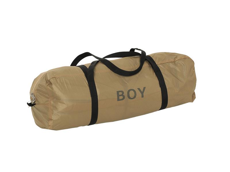 収納バッグはアウターテントと同色