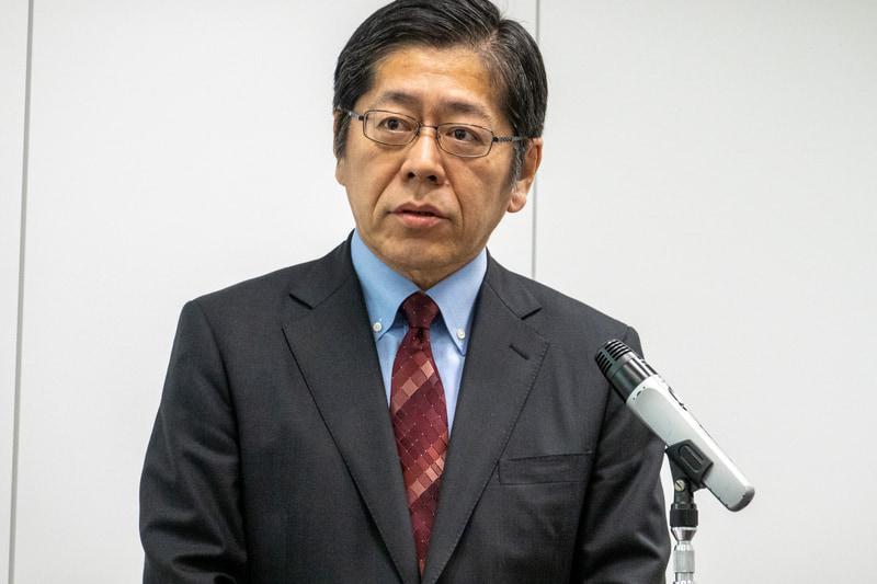 新しいキャッシュレス決済戦略について説明した三井住友カード株式会社 代表取締役社長 大西幸彦氏