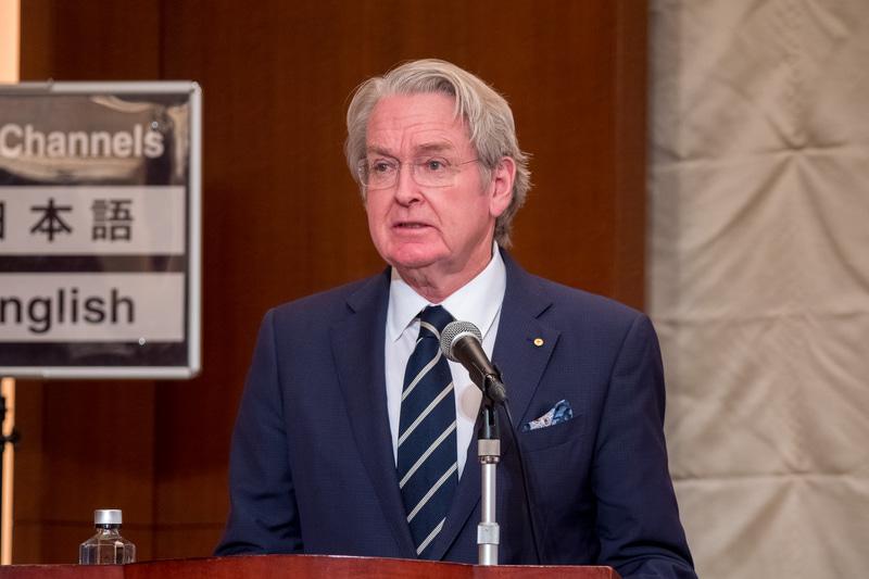 駐日オーストラリア大使 リチャード・コート氏