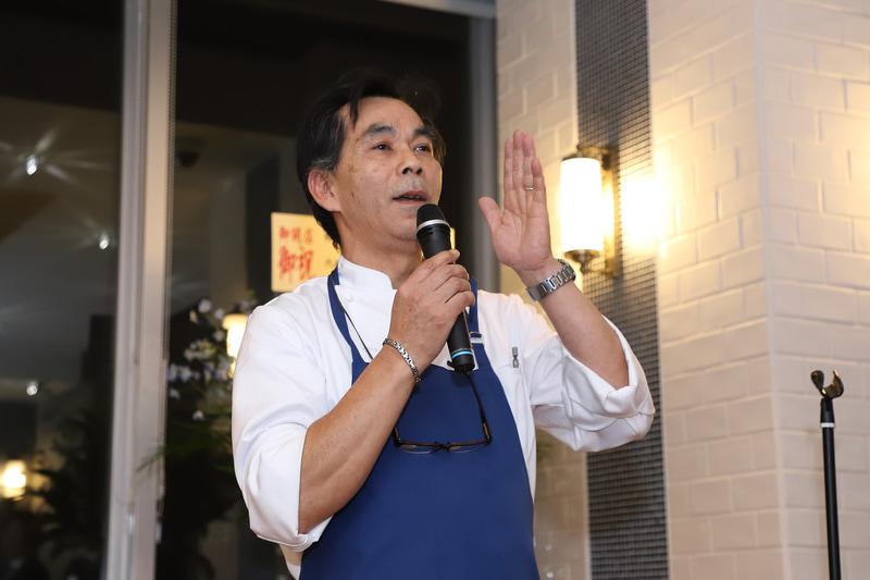 ラ・ステラ料理長の庄司温志氏。「お客さまの期待にそえる料理を提供していきたい。私たちの料理が、お客さまの会話の弾みになれれば」と話す