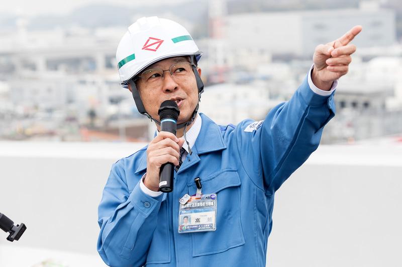 横浜市道路局 横浜環状道路調整担当 理事 高瀬卓弥氏