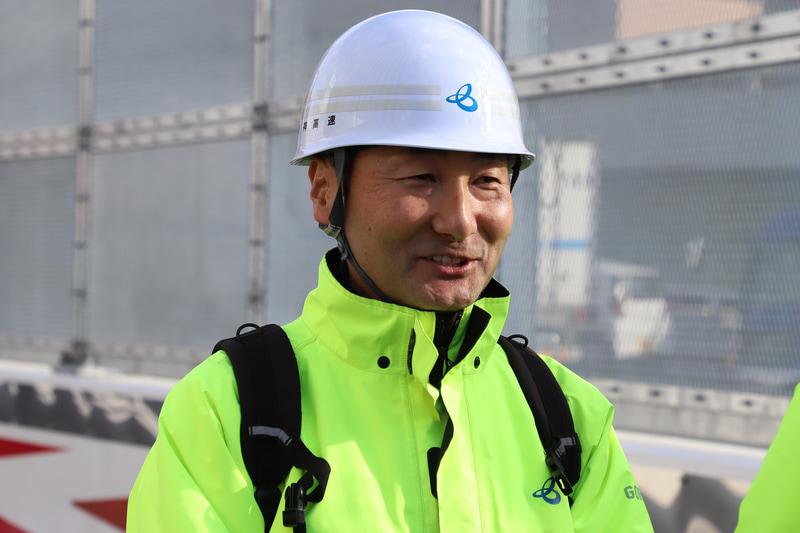 新技術について説明する 阪神高速道路株式会社 建設事業本部 大阪建設部 設計課 設計総括課長 志村敦氏