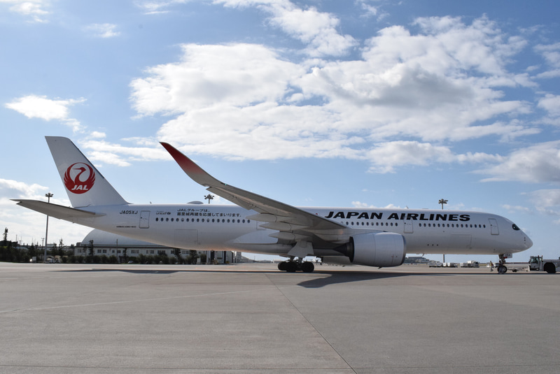 JALがエアバス A350-900型機を羽田~那覇線に投入した