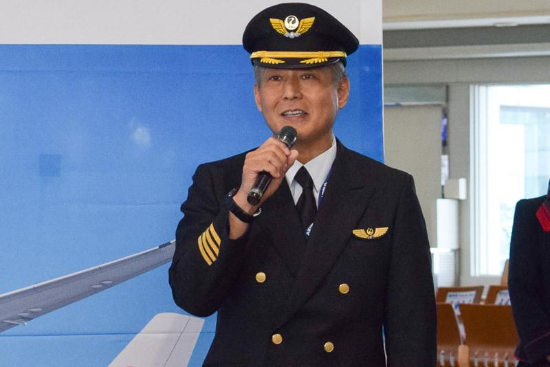 A350機長の杉本恒氏