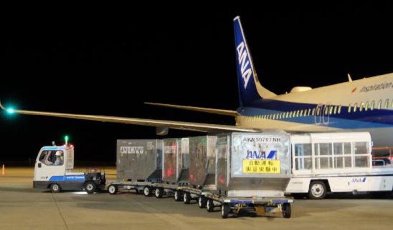 佐賀空港での実証実験の様子(2019年10月)