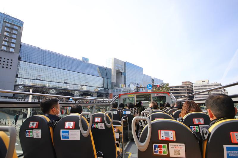 JR京都駅前に戻ってきた