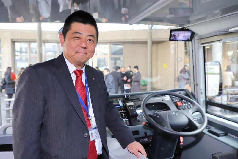日の丸自動車興業株式会社 運行・車両管理部 運行・車両管理課 車両担当課長 清水和生氏