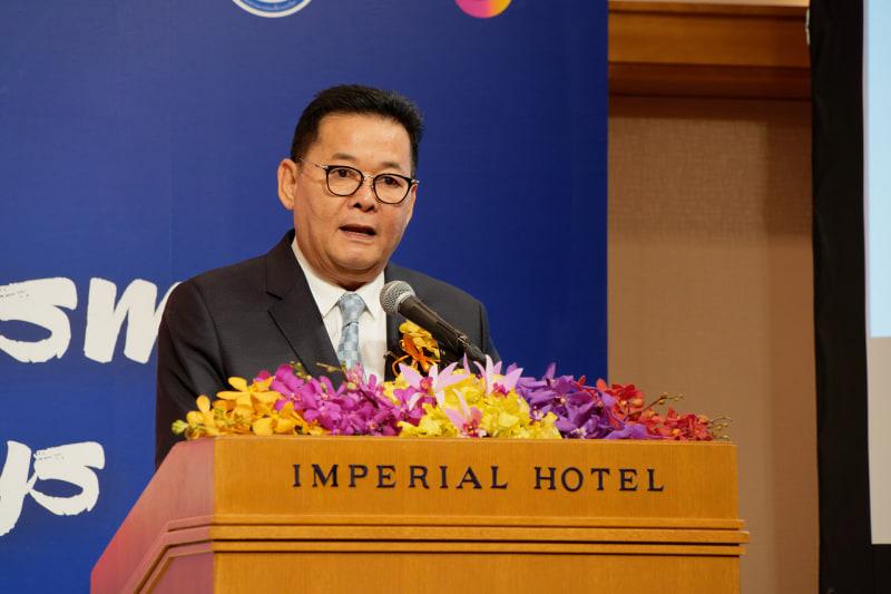 タイ国観光スポーツ省 ナッピントーン・シーサンパーン副大臣