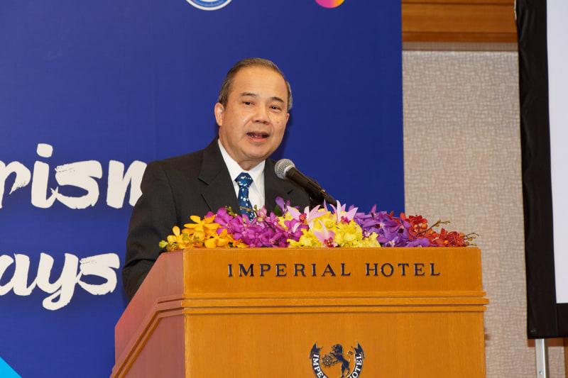 在京タイ王国大使館 特命全権大使 シントン・ラーピセートパン氏