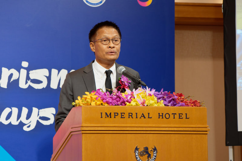 タイ国政府観光庁 広報宣伝局長のグリッサナ・ゲーオタムロン氏