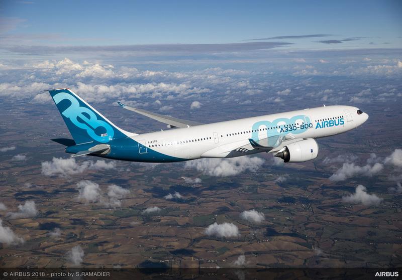 エアバス A330-800型機がEASAの型式証明を取得