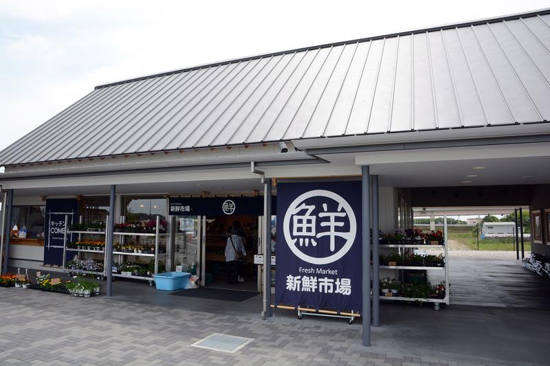 神崎IC付近の道の駅「発酵の里こうざき」