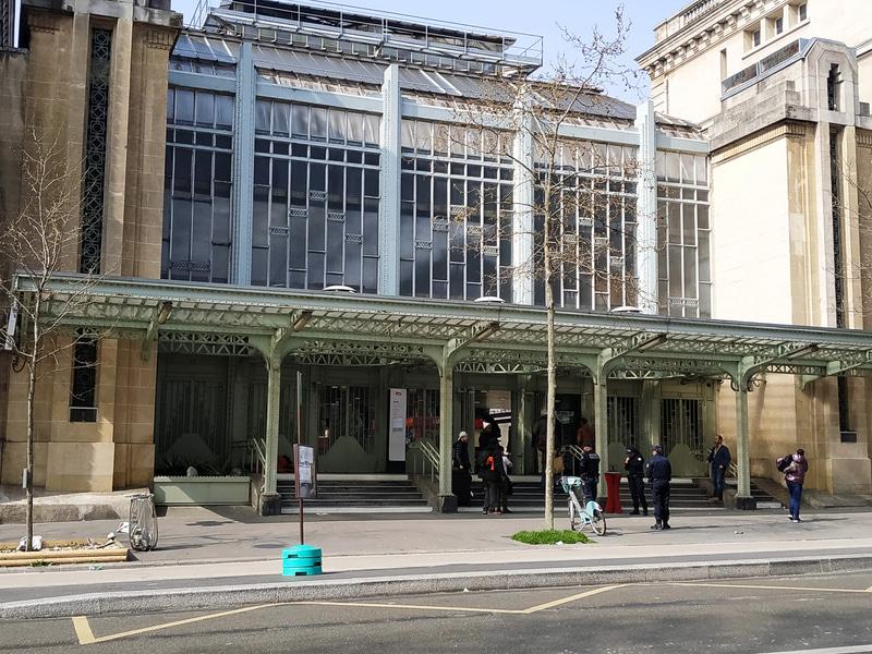 パリ東駅の様子