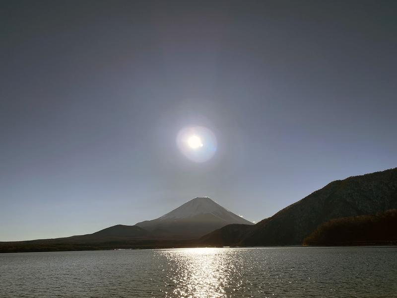 こちらは2日目朝の富士山。いつまでも眺めていたくなる景色だが、チェックアウト時間は10時のため、早めに片付けに取り掛かろう
