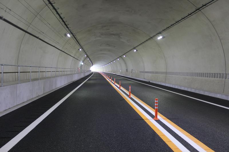 北野トンネル内