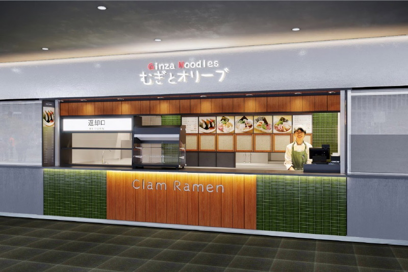 ANA FESTAは3月29日に国際線エリアの供用を開始する羽田空港第2ターミナルに3店舗の飲食店をオープンする