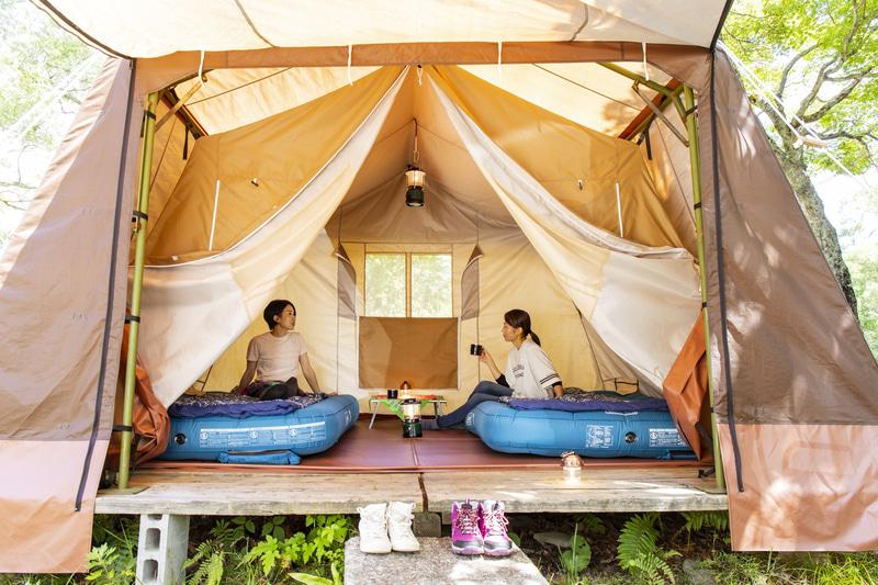 休暇村オリジナルテント