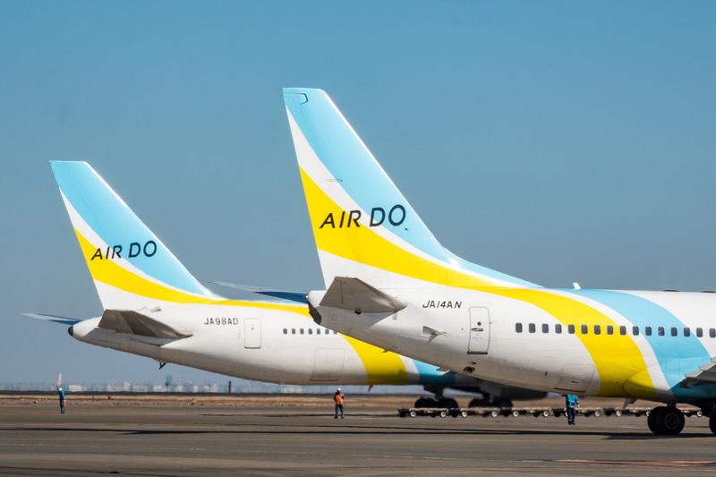 AIR DOは4月14日~30日に国内線9路線を対象とした追加運休を発表した