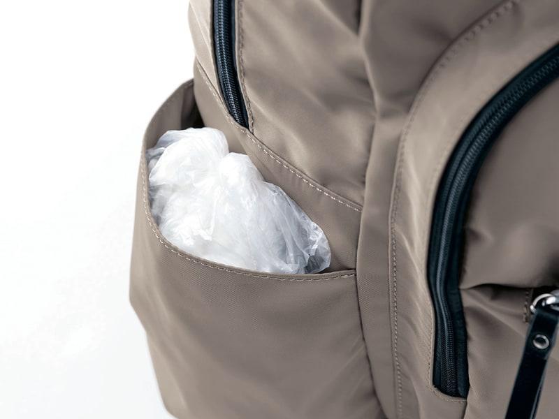 ゴミ専用ポケット