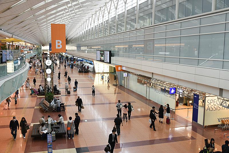羽田空港は国内線ターミナルの保安検査場、トイレ、喫煙所の一部を閉鎖する