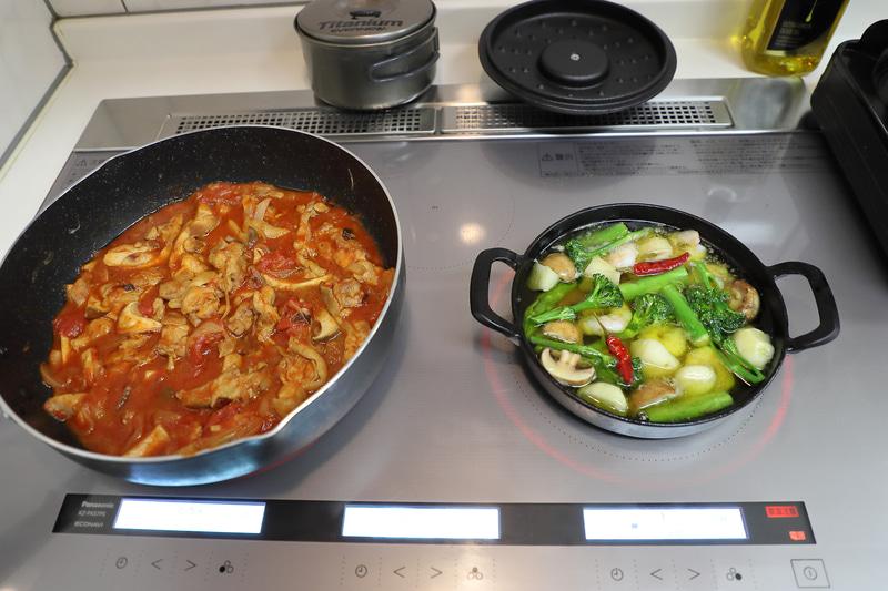 調理はキッチンを使用