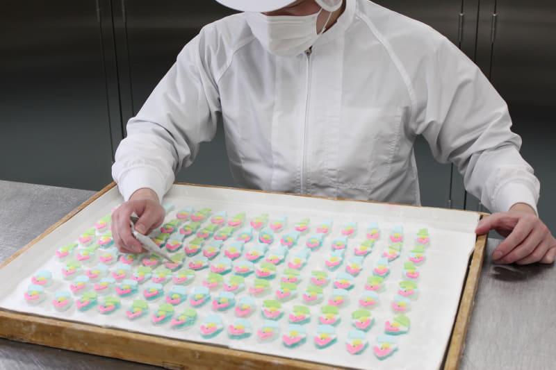 創業して以来、変わらず受け継がれてきた製法で職人がゼリーを炊き上げている