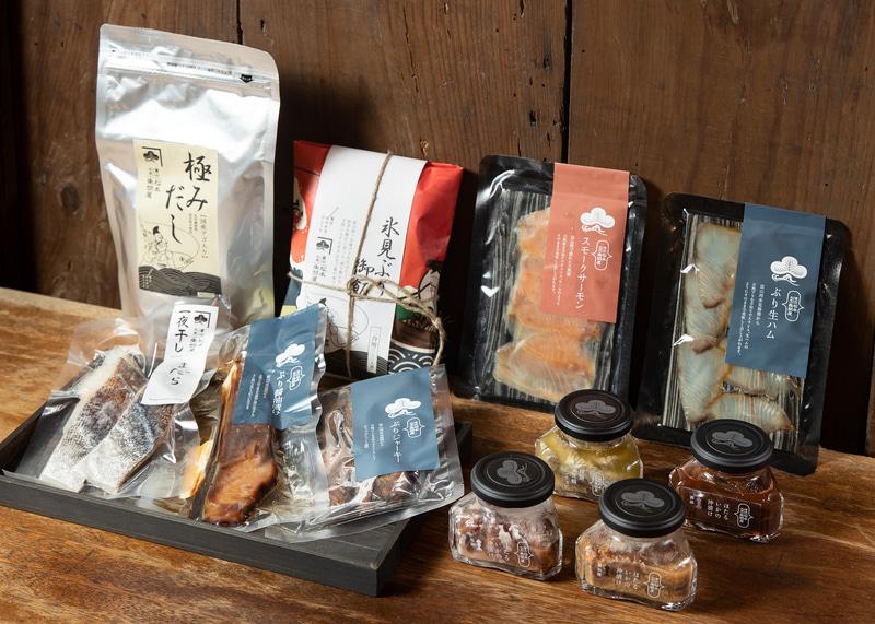 松本魚問屋(氷見市)の各種商品