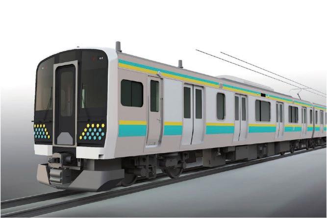 JR東日本は房総・鹿島エリアに新型車両E131系を投入する