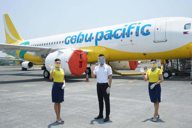 セブ・パシフィック航空は、運航再開に向けて衛生管理を強化した