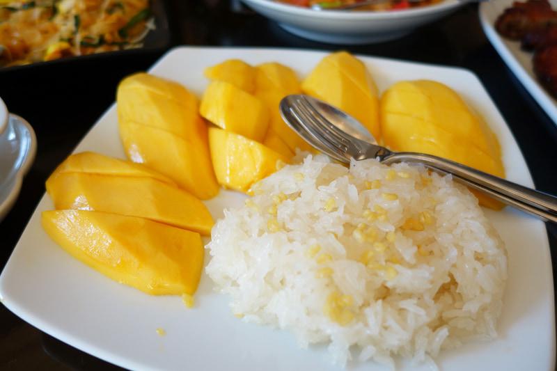 タイのレストランで出る典型的なもの