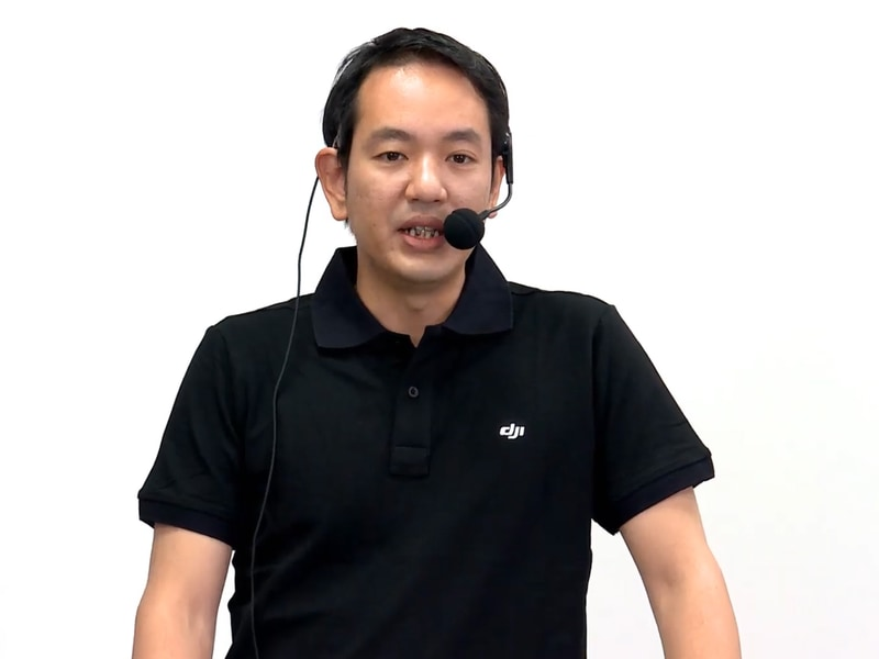 DJI JAPAN株式会社 プロダクトマーケティングマネージャー 皆川正昭氏