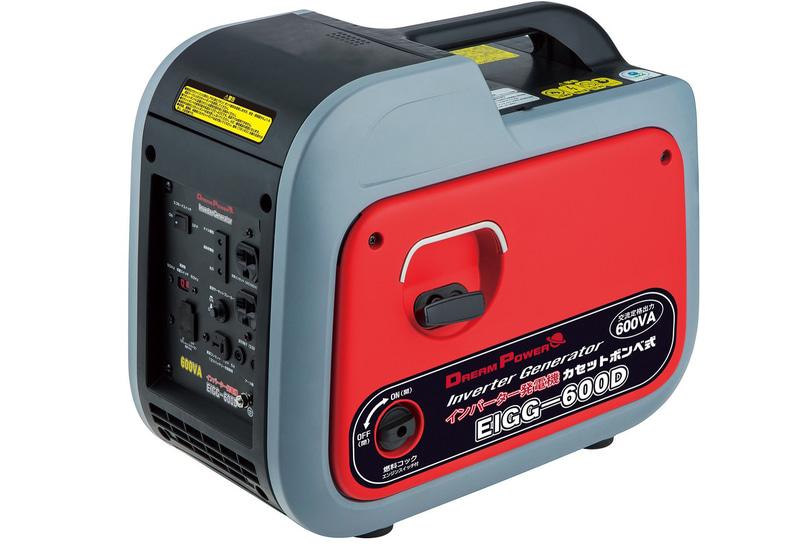 山善がポータブル発電機「EIGG-600D」を発売する