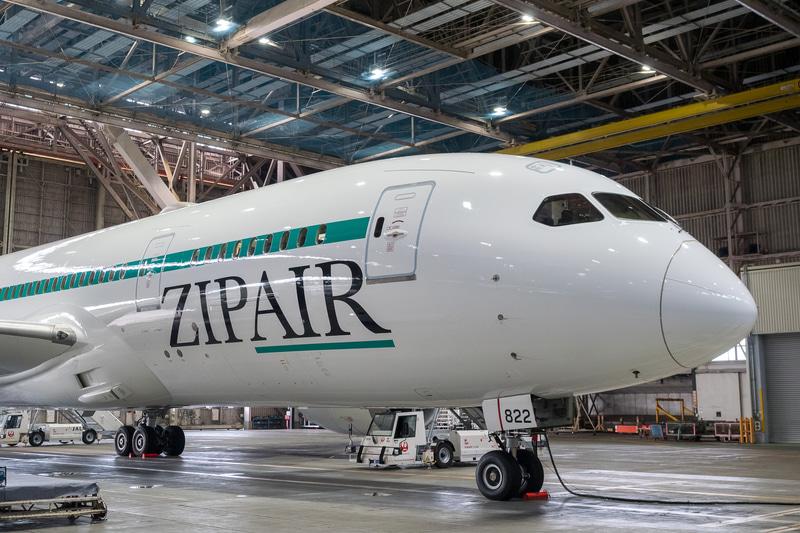 ZIPAIRは貨物専用便として成田~バンコク線を開設する