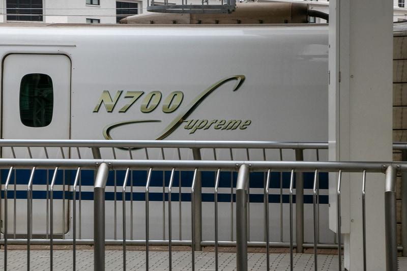ちなみに取材時にN700S(R0)が入線してきた