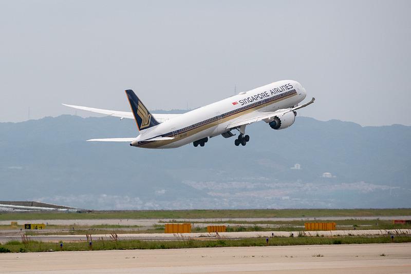 シンガポール航空は6月12日から関空路線を週1往復で再開する