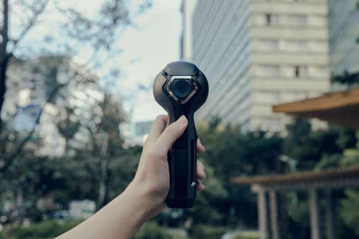 DP Smart Technologyが全天球カメラのクラウドファンディングを実施している