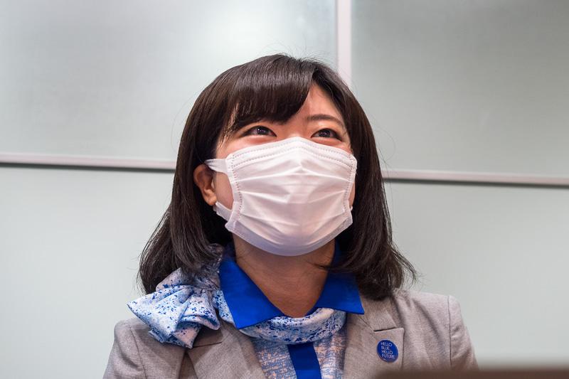 ANAウイングス株式会社 客室部 東京客室乗務室 奥崎CA