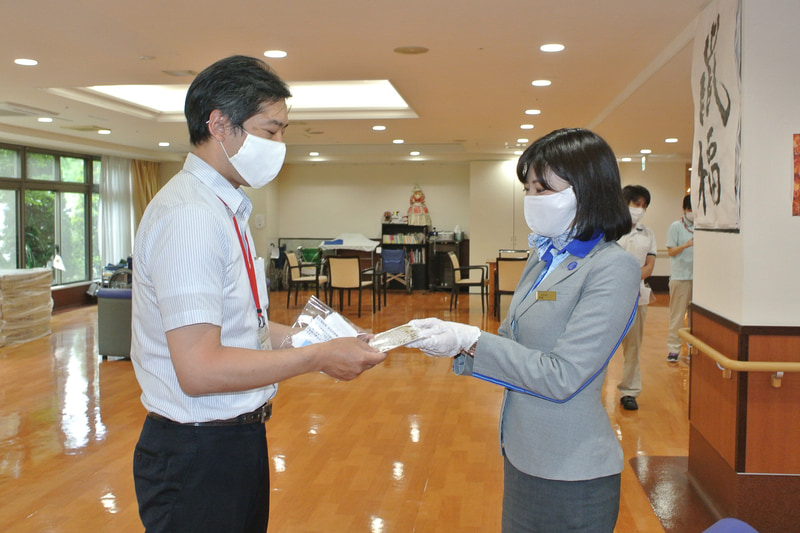 東京地区での寄贈