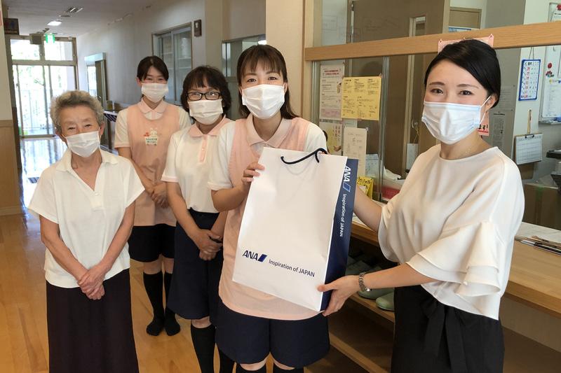大阪地区での寄贈