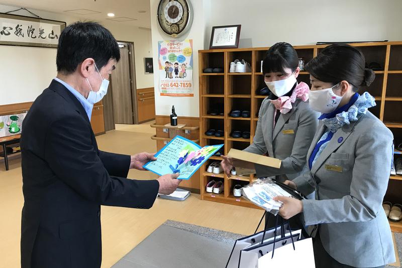 福岡地区での寄贈