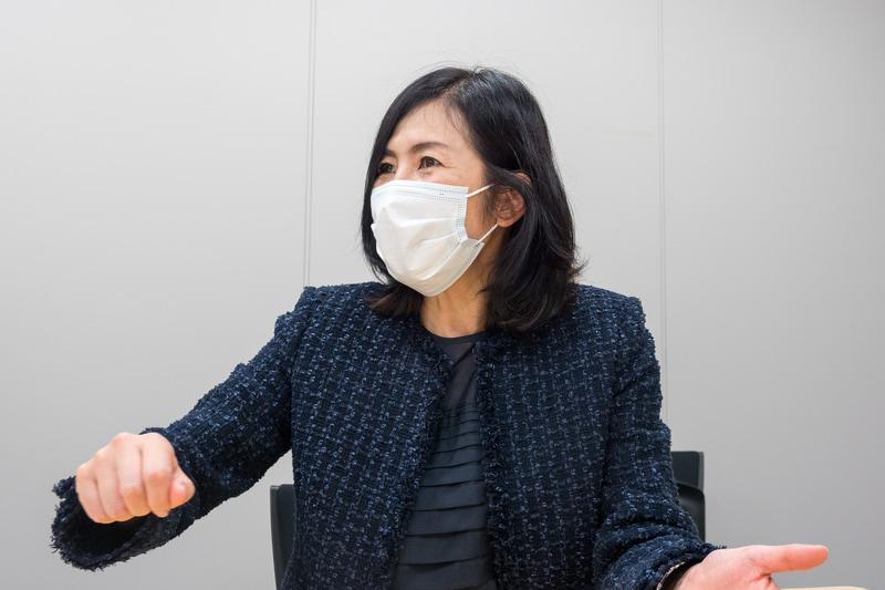 全日本空輸株式会社 客室センター 客室乗務二部 部長 佐藤裕子氏