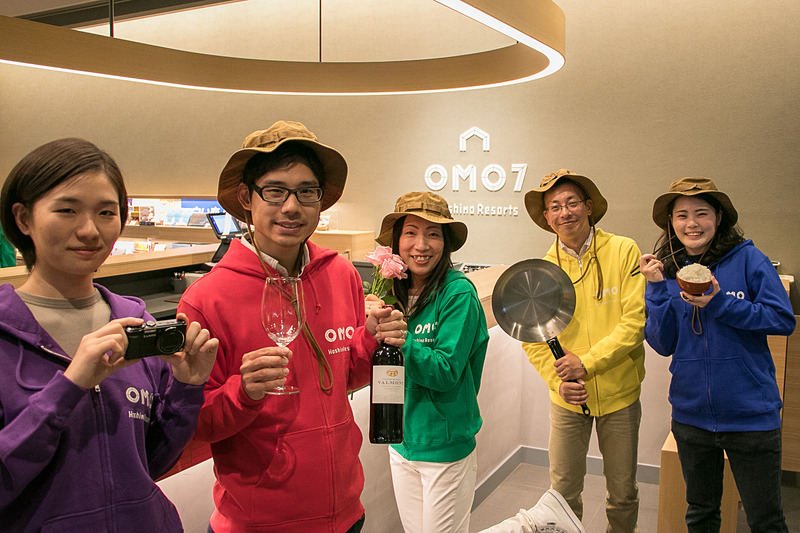 2018年4月開業の「OMO7旭川」