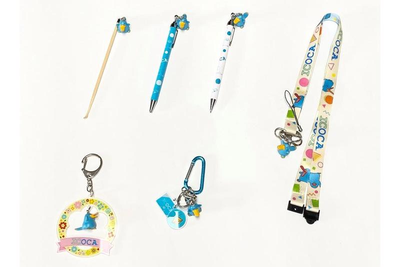 JR西日本商事はトレインボックスでカモノハシのイコちゃん フィギュアシリーズ6アイテムを7月10日に発売する