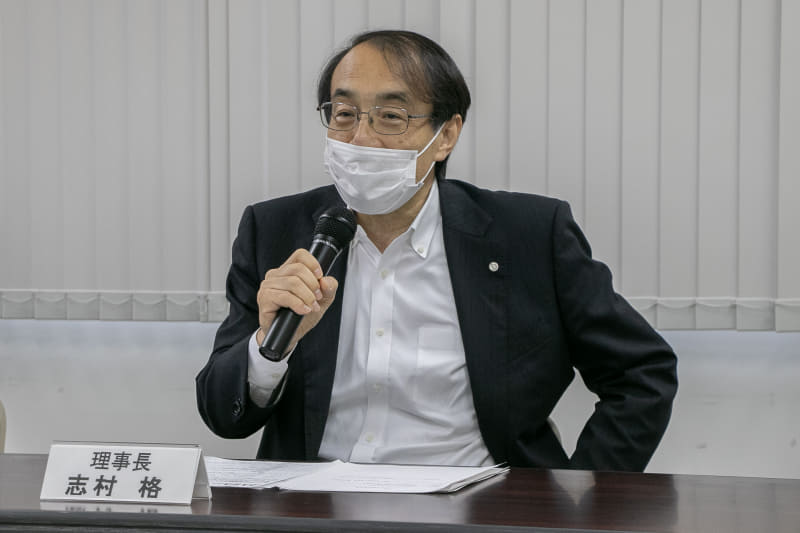 理事長 志村格氏