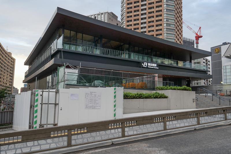 7月12日から供用開始したJR飯田橋駅の新西口駅舎