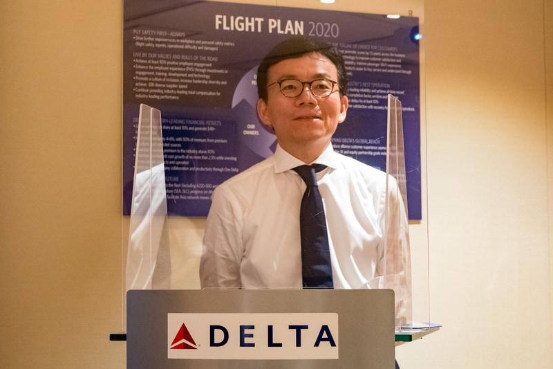 デルタ航空会社 日本地区 空港本部 本部長 田中勇三氏