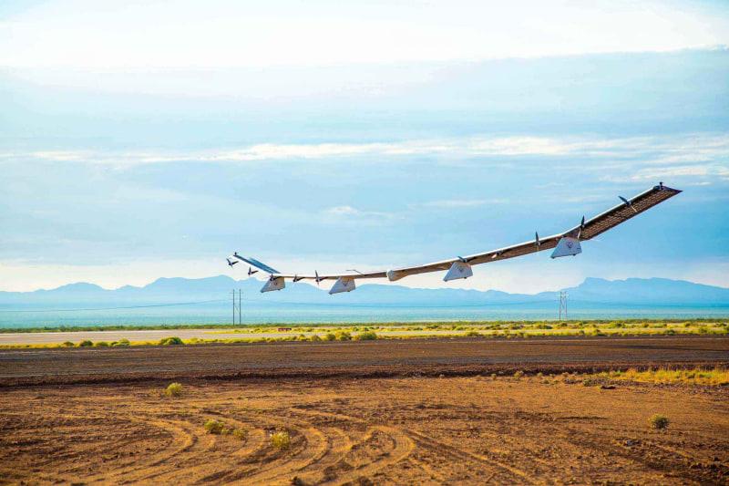 成層圏通信プラットフォーム向け無人航空機「Sunglider」