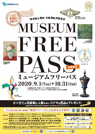 小田急電鉄は箱根の6つの美術館が何度でも利用できる「ミュージアムフリーパス」を発売する