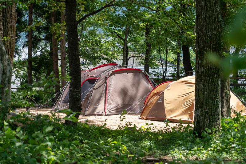初心者も安心のキャンプサイトプランも用意