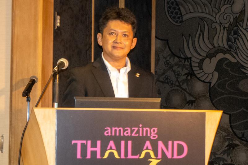 タイ国政府観光庁 東京事務所 所長 セークサン・スィープライワン氏